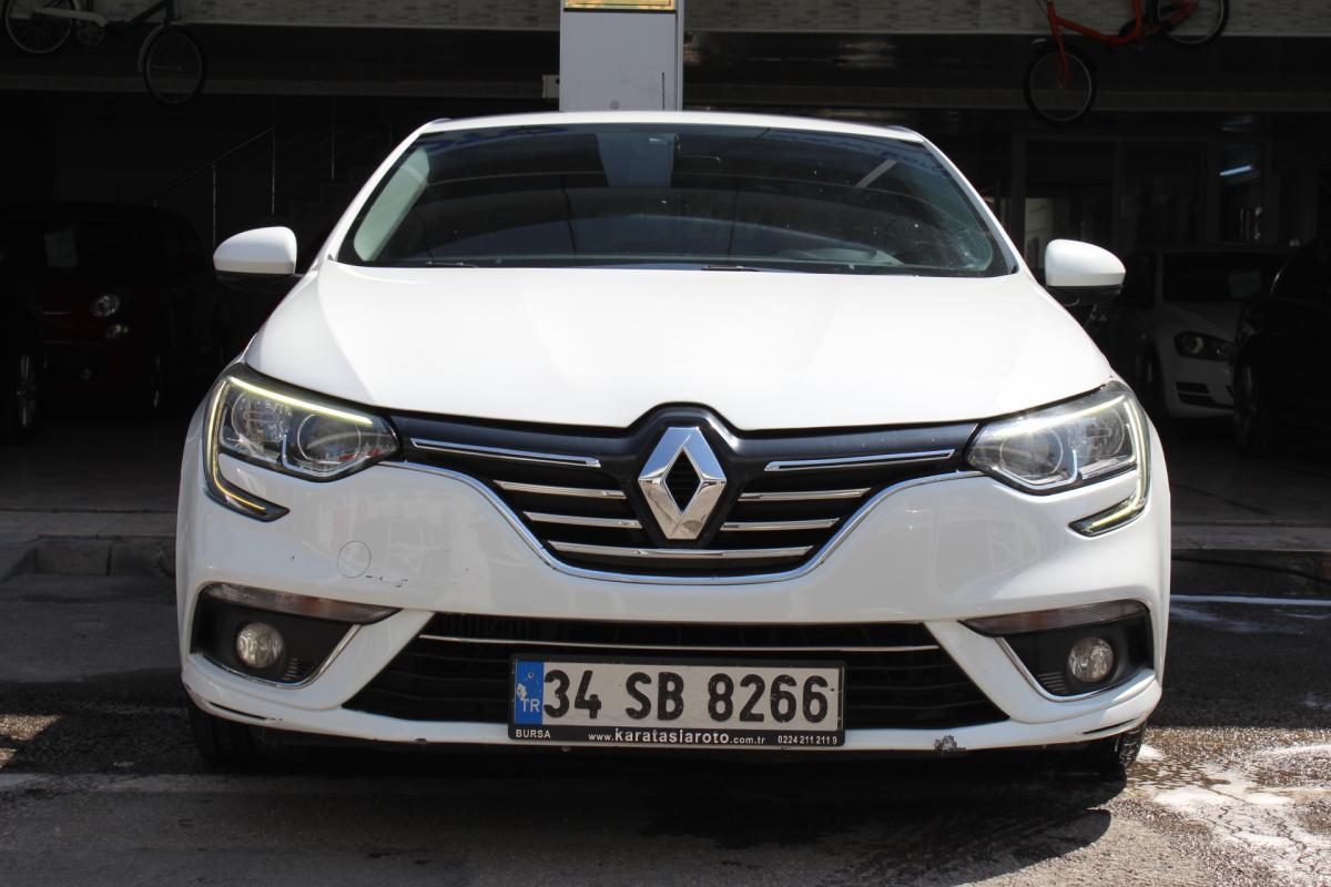 Renault Megane Touch 2017 Dizel Otomatik